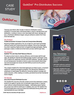 GlueDots_CS_Distributing Success_QuikDotPro