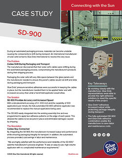 GlueDots_SD_900_Solar_CaseStudy